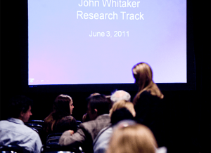 John Whitaker Research track, 2011