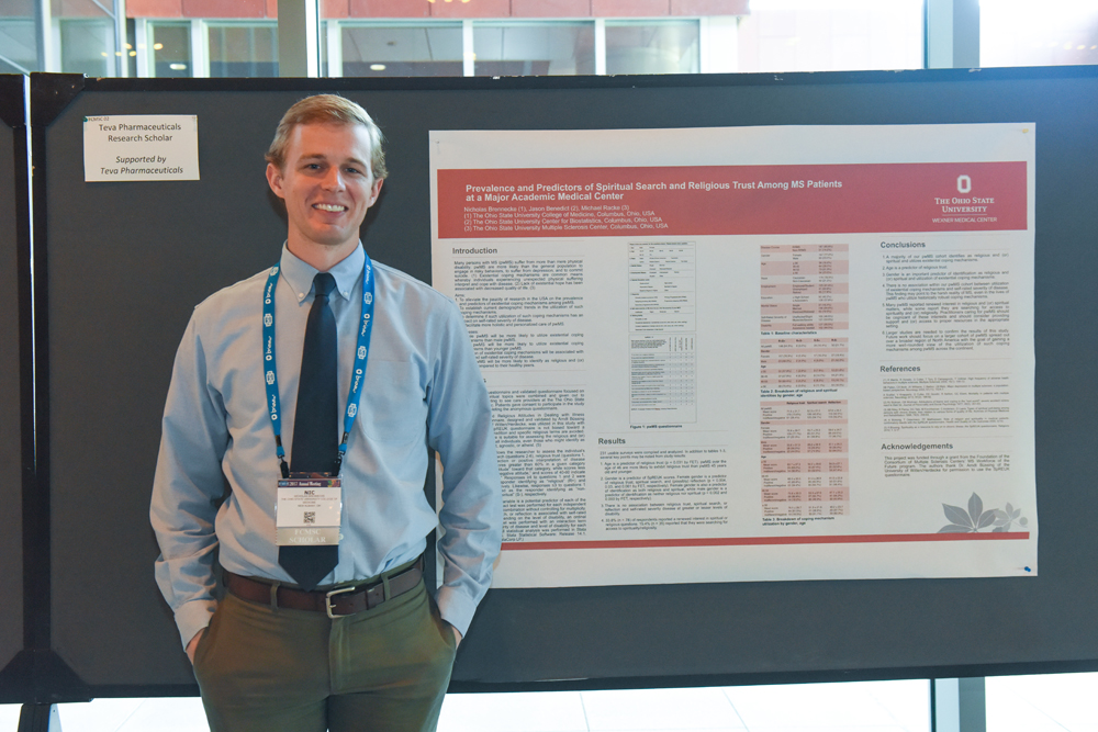 Nicholas Brennecke, MD, Medical Research Student Scholar and Presenter