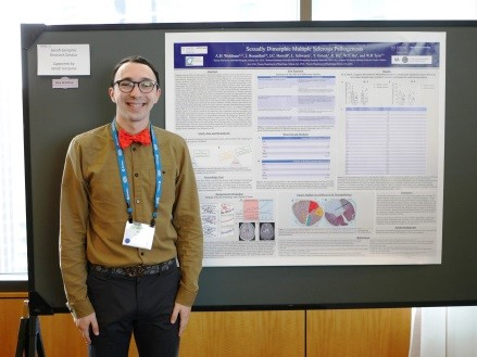 Alex Waldman, Medical Research Student Scholar and Presenter